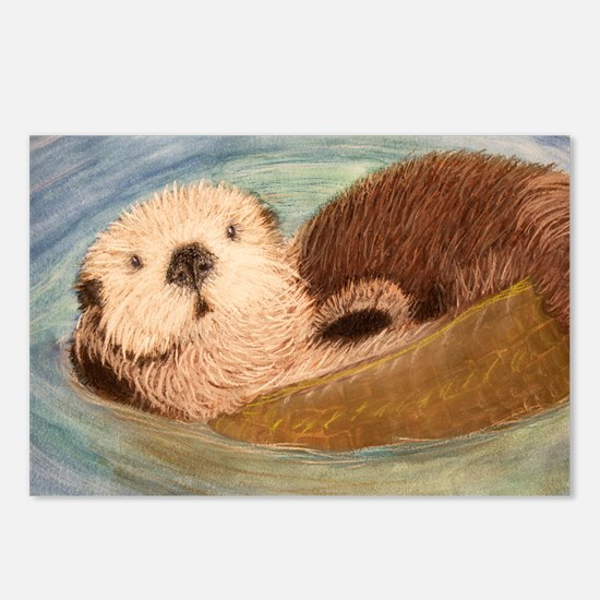 Sea Otter--Endangered Spe Postcards (Package of 8)