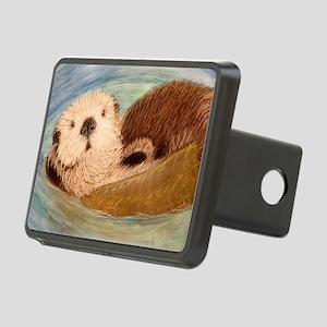 Sea Otter--Endangered Spec Rectangular Hitch Cover