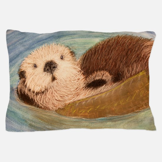 Sea Otter--Endangered Species Pillow Case