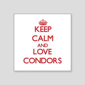Keep calm and love Condors Sticker