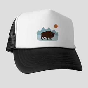Buffalo Mountains Trucker Hat