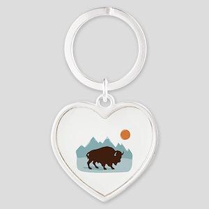 Buffalo Mountains Keychains