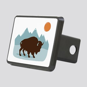 Buffalo Mountains Hitch Cover
