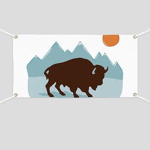 Buffalo Mountains Banner