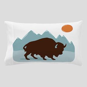 Buffalo Mountains Pillow Case