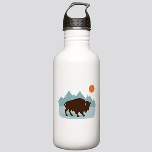 Buffalo Mountains Water Bottle