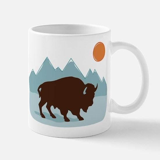 Buffalo Mountains Mugs