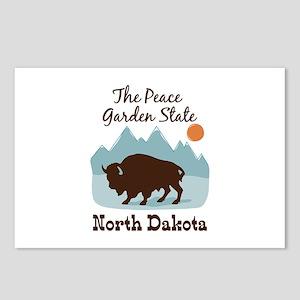 The Peace Garden State North Dakota Postcards (Pac