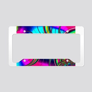 Fabulous Fractal License Plate Holder