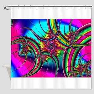 Fabulous Fractal Shower Curtain