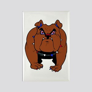 British Bulldog Rectangle Magnet