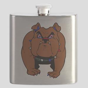 British Bulldog Flask