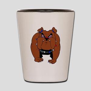 British Bulldog Shot Glass