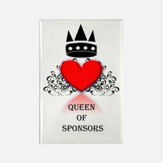 Queen Of Sponsors Magnet