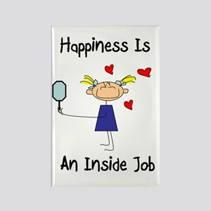 Happiness Is An Inside Job Magnet