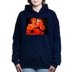 Roses Hooded Sweatshirt