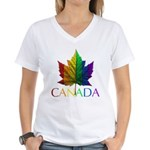 Gay Pride Gifts Women's V-Neck T-Shirt