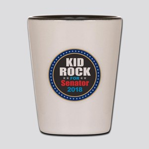 Kid Rock for Senator 2018 Shot Glass