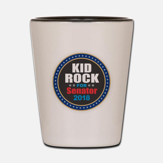 Kid Rock for Senator 2018 Shot Glass