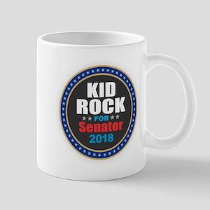 Kid Rock for Senator 2018 Mugs