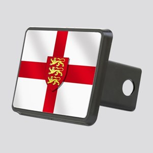 England 3 Lions Flag Rectangular Hitch Cover