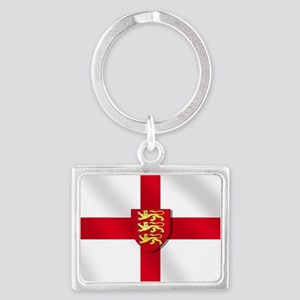 England 3 Lions Flag Keychains