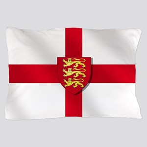 England Three Lions Flag Pillow Case