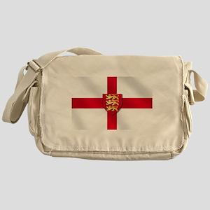 England Three Lions Flag Messenger Bag