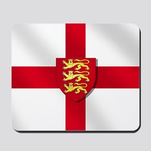 England Three Lions Flag Mousepad