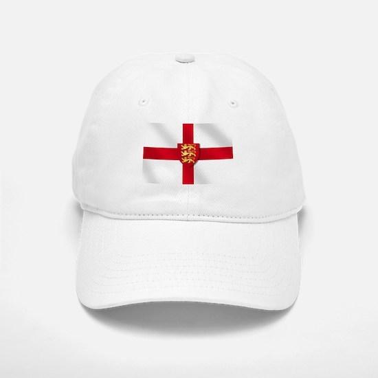 England Three Lions Flag Baseball Baseball Cap