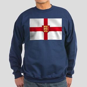 England Three Lions Flag Sweatshirt (dark)