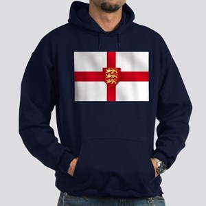England Three Lions Flag Hoodie (dark)
