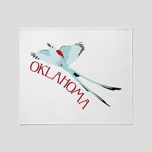 OKLAHOMA Throw Blanket