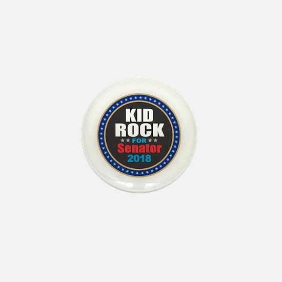 Kid Rock for Senator 2018 Mini Button