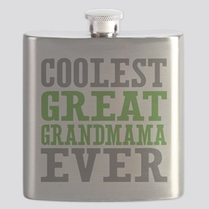 Coolest Great Grandmama Ever Flask