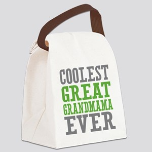 Coolest Great Grandmama Ever Canvas Lunch Bag