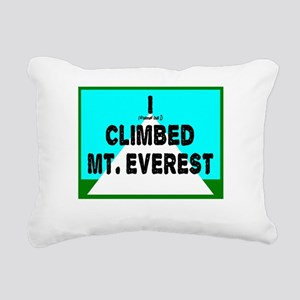 Mt. Everest Rectangular Canvas Pillow