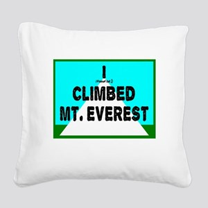 Mt. Everest Square Canvas Pillow
