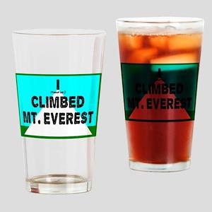 Mt. Everest Drinking Glass