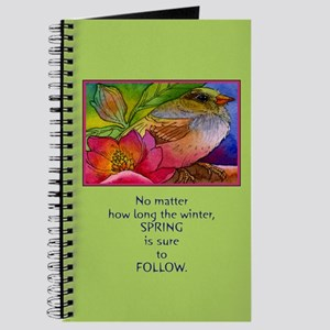 Beautiful Spring Journal