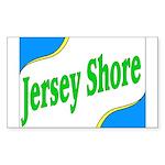 Jersey Shore Rectangle Sticker