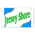 Jersey Shore Rectangle Sticker