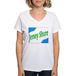 Jersey Shore Women's V-Neck T-Shirt
