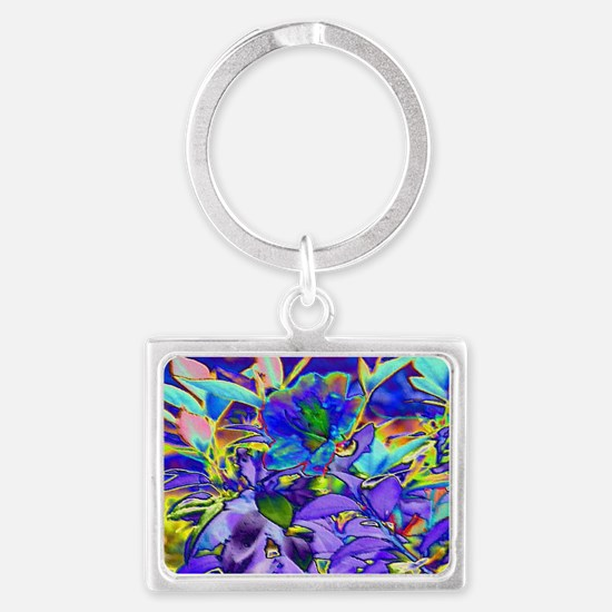 Foiled Garden Special Effects Landscape Keychain