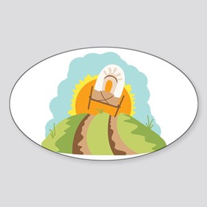 Covered Wagon Sticker