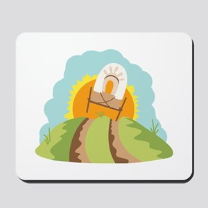 Covered Wagon Mousepad