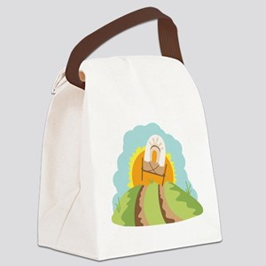 Covered Wagon Canvas Lunch Bag