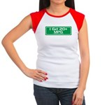 20 MPG Gear Women's Cap Sleeve T-Shirt