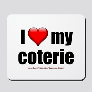 """Love My Coterie"" Mousepad"