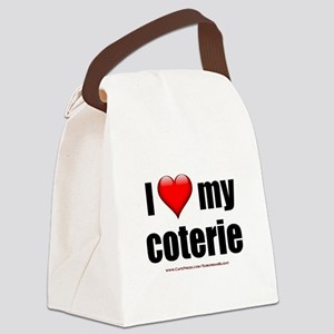 """Love My Coterie"" Canvas Lunch Bag"